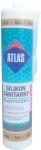 Эластичный санитарный цветной силикон бежевого цвета (020) Atlas 280 м.л.