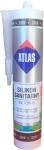 Санитарный цветной силикон Atlas Silton S - каштановый (209) 280 мл.