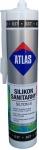 Санитарный цветной силикон Atlas Silton S - 037 Графитовый