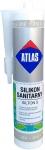 Санитарный цветной силикон Atlas Silton S - 212 серо-коричневый