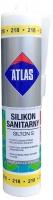 Санитарный цветной силиконовый герметик Atlas Silton S - 218 лимонный