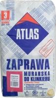 Смесь с минералами для кладки и затирки швов клинкера бежевая 020 Atlas Zaprawa Klinkieru