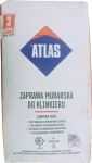 Строительная смесь Atlas с минералами бежевого цвета 201 для кладки и расшивки клинкера 25 кг