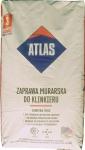 Строительная смесь Atlas с минералами серого цвета 351/ 25 кг для кладки и расшивки кирпича и клинкера