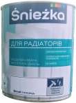 Белая акриловая эмаль для радиаторов 0,9 кг Sniezka