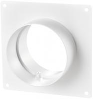 Соединитель с настенной пластиной для круглых каналов Ø100 мм Vents