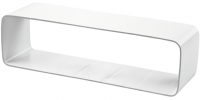 Наружное соединение плоских гибких каналов 55*110