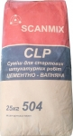 Цементно- известковая штукатурка Scanmix CLP 504 25 кг