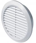 Вентиляционная решётка T 36 (Ø100- Ø150) белая с фланцем