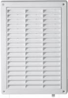 Вентиляционная решётка Т 59а (12,8*19,7) белая с жалюзи