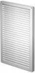 Вентиляционная решётка Т 85 (34*22) белая с жалюзи
