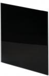 Панель Trax Чёрное глянцевое стекло Ø100