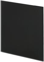 Панель Trax Чёрное матовое стекло Ø100