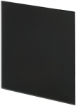 Панель Trax Чёрное матовое стекло Ø125