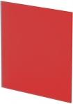 Панель Trax Красное матовое стекло Ø125