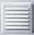 Вентиляционная решётка TRU 30 (10*10) белая