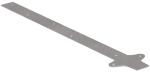 Удлинитель кронштейна желоба- оцинкованная сталь