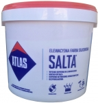 Фасадная краска модифицированная силиконом Atlas SALTA 10 л.