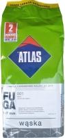 Затирка Atlas Waska Белая 001 /2 кг шов 1-7 мм
