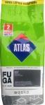 Затирка Atlas Waska Графитовая 037 /2 кг шов 1-7 мм