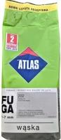 Затирка Atlas Waska Пепельного цвета 202 /2 кг шов 1-7 мм